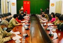 Trưởng ban Tuyên giáo Tỉnh ủy làm việc với Đảng ủy Viện Nghiên cứu hạt nhân